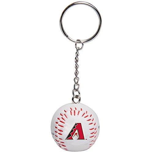 FOCO MLB Arizona Diamondbacks Unisex Team Image Ball KEYCHAINTEAM Image Ball Keychain, Team Color, One Size