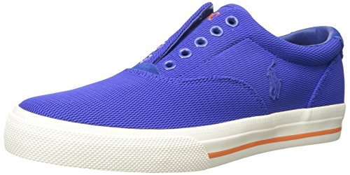 Polo Ralph Lauren Men's Vito Mesh Fashion Sneaker, Royal, 9.5 D (Polo Shoes Vito)