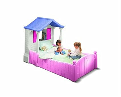 amazon com little tikes storybook cottage twin bed toys games rh amazon com little tikes storybook cottage twin bed assembly instructions Little Tikes Castle Bed