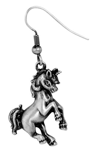 Unicorn Earrings - Collectible Jewelry Accessory Dangle Studs Jewel