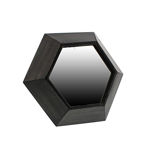 - Rustic Metal Hexagon Tabletop Mirror | 10