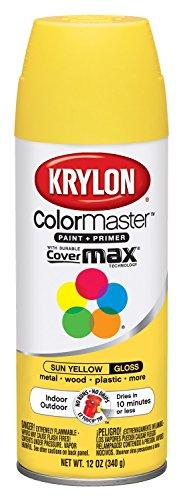 yellow aerosol paint for glass - 8