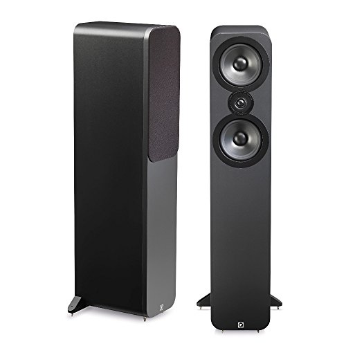 Q Acoustics 3050 Floorstanding Speakers (Pair) (Graphite) by Q Acoustics