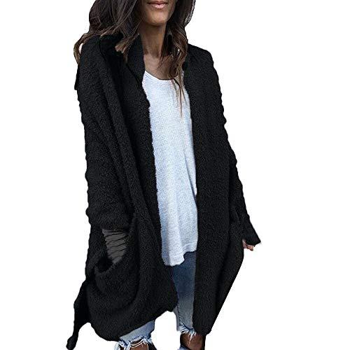 JMETRIE Womens Jacket Warm Artificial Pocket Wool Coat, used for sale  Delivered anywhere in USA