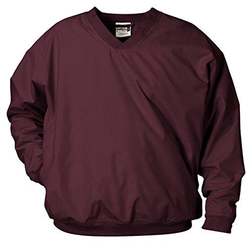 Badger Men's Microfiber Windshirt, Maroon, XL ()