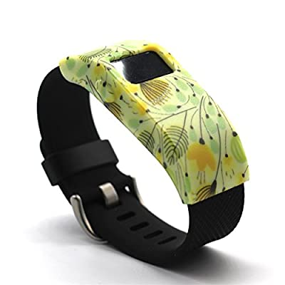 CUMILO Colorful Replacement Cover for Fitbit Charge/Fitbit Charge HR(No Tracker,No Band)