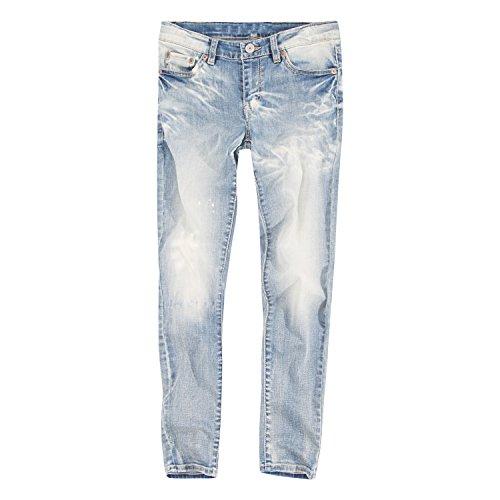 Levi's Big Girls' 710 Super Skinny Fit Classic Jeans, Tide Bleach, 14