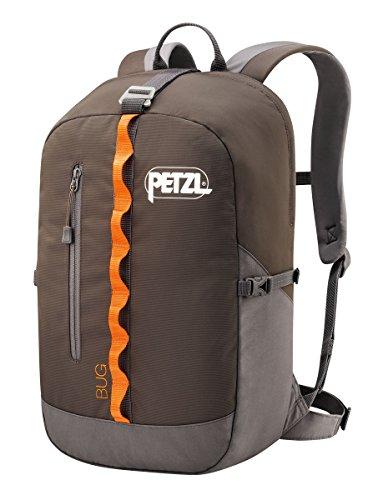Petzl - Bug Climbing Pack, 18L / 1098 Cubic Inches, Gray