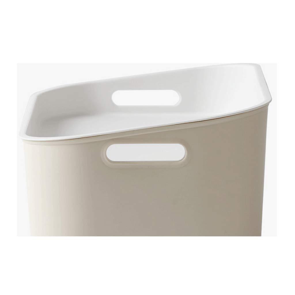 AJZXHE Caja de Almacenamiento, Caja de Almacenamiento con Tapa Tapa Tapa (Tamaño : S Beige) 65378f