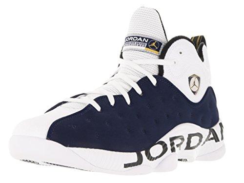 Jordan Nike Mens Jumpman Laget Ii Coolgrey 819175-003 Mitten Marinblå Vit Varsity Majs
