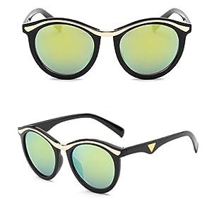 Yelovemei Classic Fashion Style Women's Sunglasses Color Lens UV400