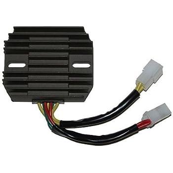 SCITOO Regulator Rectifier LD2735283RV Replacement Voltage Regulator Rectifier Fit for 1999-2002 Suzuki SV650 1999-2002 Suzuki SV650S