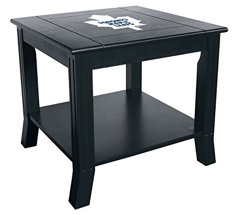 (Imperial Officially Licensed NHL Furniture: Hardwood Side/End Table, Toronto Maple Leafs)