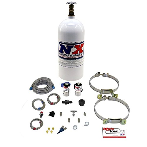 Wet Nitrous System - Nitrous Express ML2000 50-150 WHP MainLine EFI Single Nitrous System with 10 lbs. Bottle