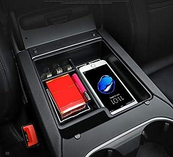 Walker Trent Car Styling Plastic Interior Central Armrest Storage Box Organizer Container Tray For Porsche Cayenne 3rd Gen Po536 2018 2019 Amazon Com