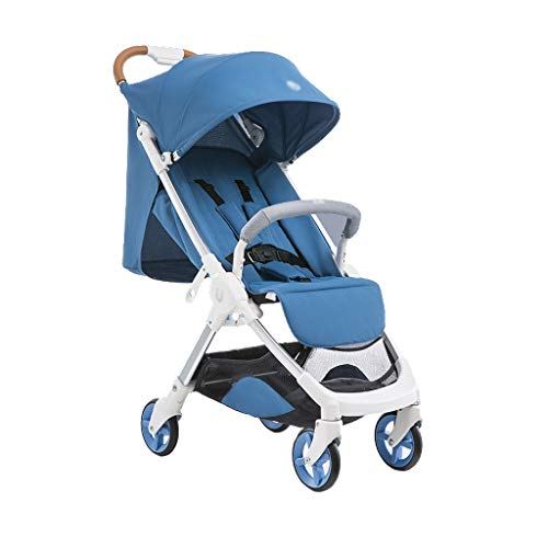 Case Brake Transfer (Folding Convertible Stroller, one-Button Open can sit or Lie Down into The Suitcase, Breathable and Comfortable with Storage Bag, (5.5KG))