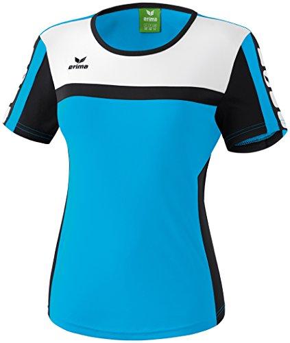 Mujeres Erima 5-CUBOS camiseta 5-CUBOS Serie curacao / negro / blanco, Opciones Tamaño: 40 Mujeres