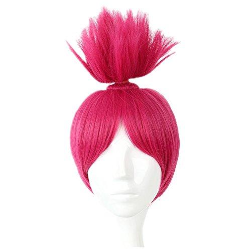 Kadiya Princess Queen Halloween Christmas Cosplay Costume Wigs Anime Wig Rose -