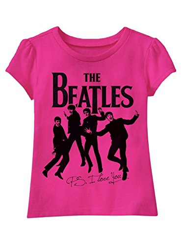 Toddler Girls' Beatles T-Shirt - Pink,