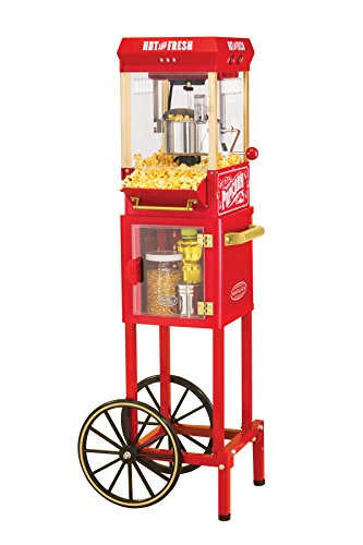 Nostalgia 45-Inch Tall Vintage Collection Popcorn Cart