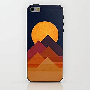 QJM Pyramids And The Sun Pattern hard Case for iPhone 6