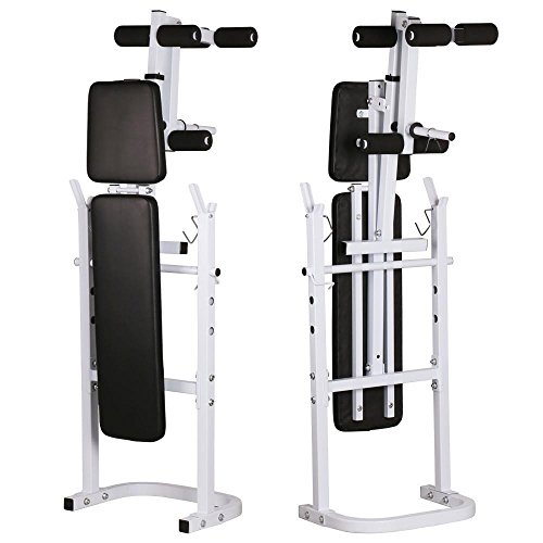 Yaheetech weight bench fitness workout home exercise adjustable incline press barbell academy Academy weight bench