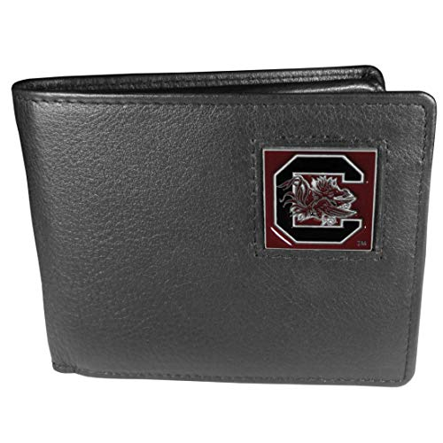 (NCAA South Carolina Fighting Gamecocks Leather Bi-fold Wallet)