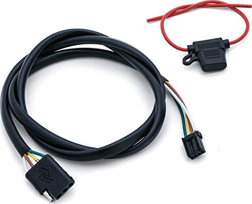 - Kuryakyn 2596 Motorcycle Accessory: Plug & Play Trailer Wiring with Relay Harness for 2014-19 Harley-Davidson FLH/FLT Motorcycles with 4-Wire Trailer