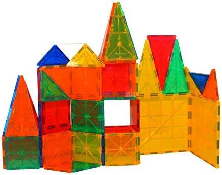 Mag-Genius Award Winning building Tiles Clear Colours 3D Brain Building Blocks,