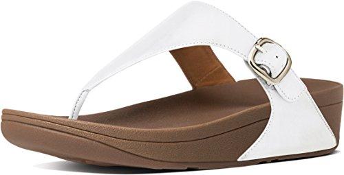 22e9c2606 Galleon - FitFlop Women s The Skinny Urban White 2 Sandal