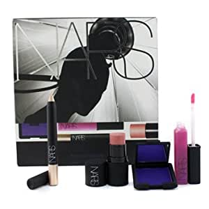 NARS Fashion Forward Set (1xEyeshadow, 1xSoft Touch Shadow Pencil, 1xThe Multiple, 1xLip Gloss) - 4pcs