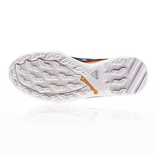 adidas Terrex Swift R2 GTX, Scarpe da Arrampicata Basse Uomo Blu (Rawste/Cblack/Orange Rawste/Cblack/Orange)