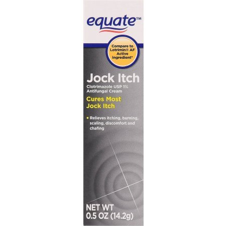 PACK OF 12 - Equate Jock Itch Antifungal Cream, 0.5 oz by Equate