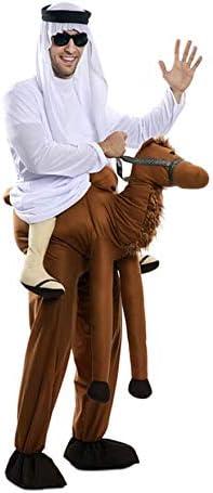 EUROCARNAVALES Disfraz de Árabe montado en Camello para Adultos