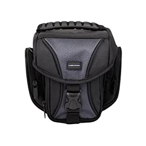 CaseCrown Rugged DSLR Case and Shoulder Bag for Canon EOS Rebel T1i 15.1MP Digital SLR Camera