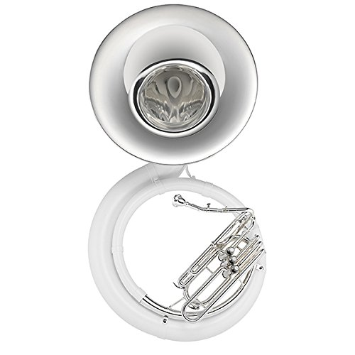 Jupiter JSP1010S BBb FiberBrass Sousaphone (Silver Plated Bell and Center Section) by Jupiter
