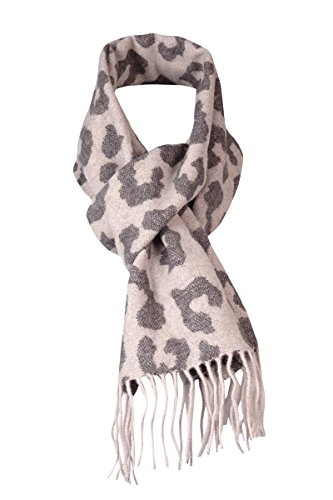 Java Leopard - Charter Club Women's Exploded Leopard Cashmere Muffler One Size Java/Biscotti
