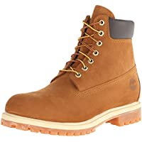 Timberland Men's 6 inch Premium Waterproof Boot, Rust nubuck, 9.5 D - Medium