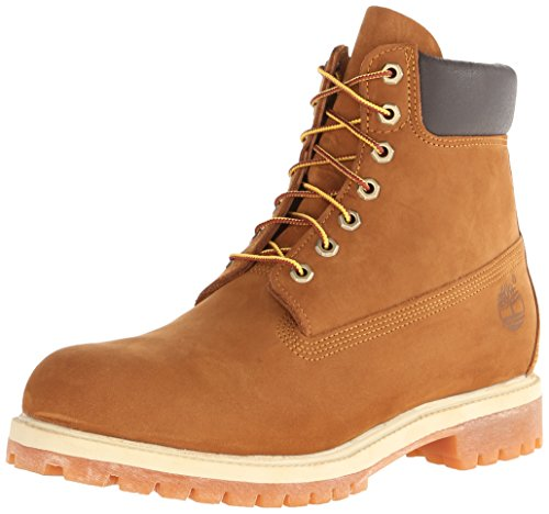 6in Brown boot premium homme Timberland Rust Boots Orange OqPdwEn1