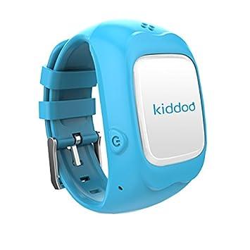 Kiddoo Montre Connectée pour Enfants Bleu