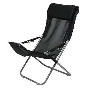 10T Outdoor Equipment Maxi Chair Silla de camping, Negro, Estándar