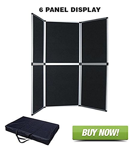 6 Panel Table Top Display by StoreBasics