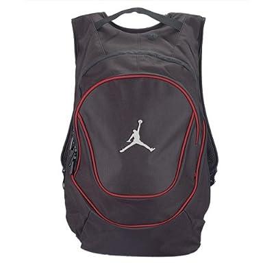 f881107fbe good Jordan Nike Air Jumpman Backpack Book Bag-Black/Red - canada ...