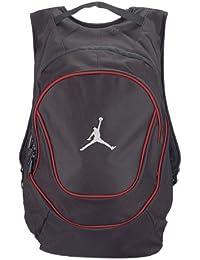 Jordan Nike Air Jumpman Backpack Book Bag-Black/Red