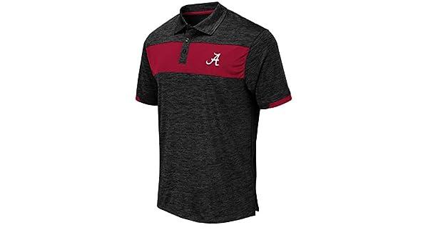 Mens Alabama Crimson Tide Nelson Polo Shirt