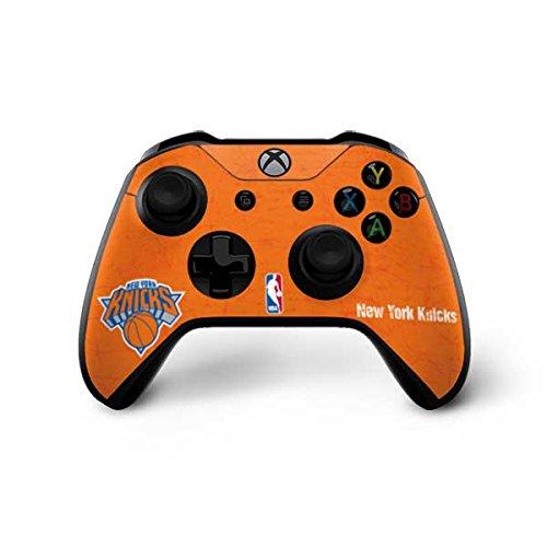 New York Knicks Xbox One X Controller Skin - New York Knicks Orange Primary Logo | NBA X Skinit Skin by Skinit