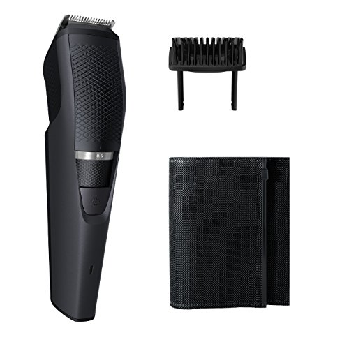 (Philips Norelco Beard Trimmer BT3210/41 - cordless grooming, rechargable, adjustable length, beard, stubble, and mustache)