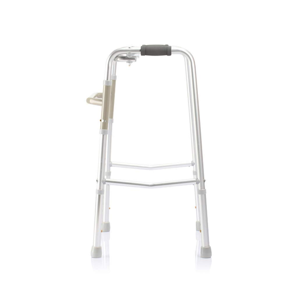 Up and Down Stairs Walker Lightweight Aluminum Adjustable Mobility Walking Aid-Retractable Four-Pointed Cane YXNZ Elderly Walker