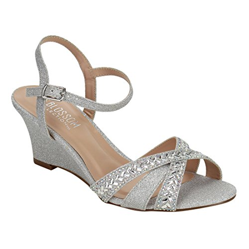 de-blossom-collection-fi63-womens-criss-cross-wedge-heel-prom-dress-sandals-colorsilver-size8