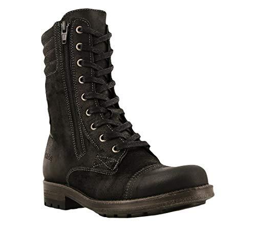 - Taos Footwear Women's Renegade Black Boot 7-7.5 M US